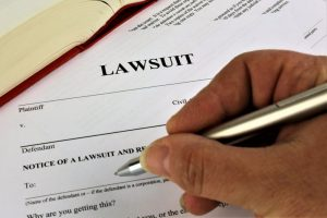 lawsuit paperwork